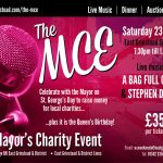 Mayor's Charity Ball held at East Grinstead Sports Club