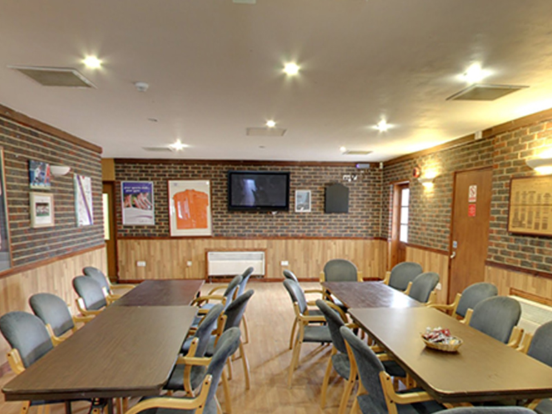 East Grinstead sports club Clubhouse Seating Area