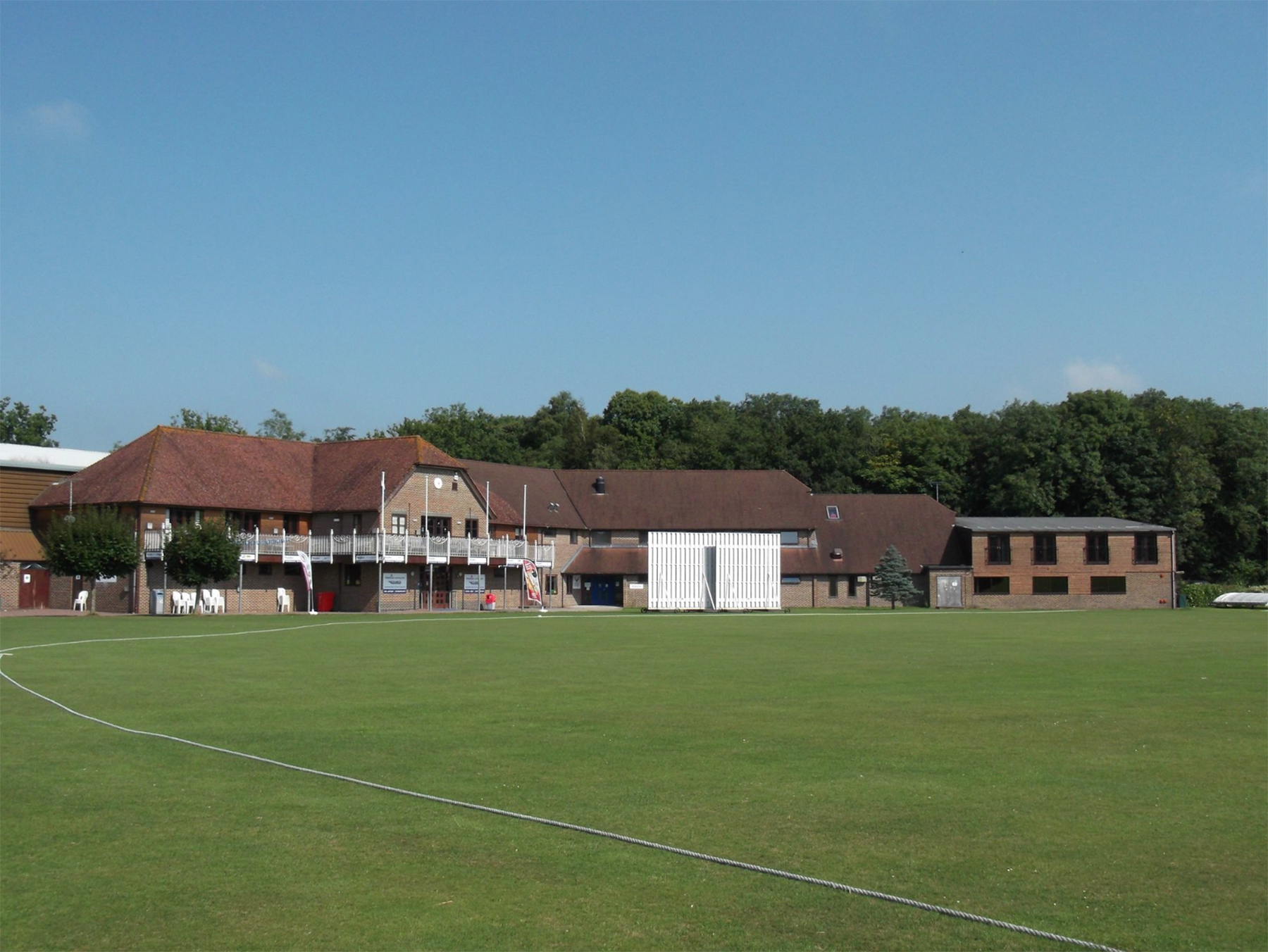 East Grinstead Sports Club Cricket Pitch