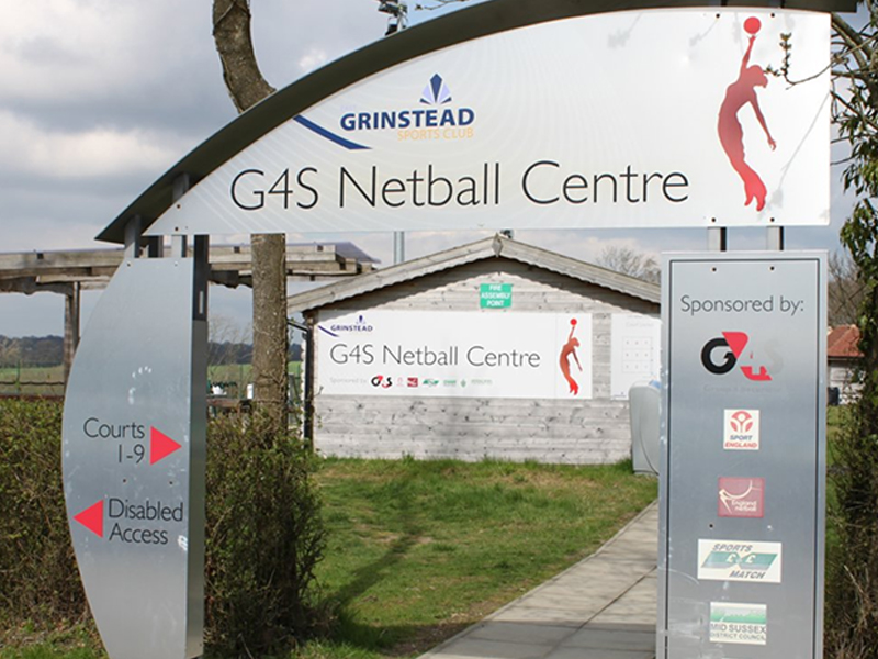East Grinstead Sports Club Netball Courts Centre Entrance