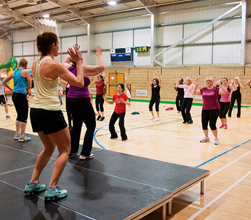 East Grinstead Sports Club Sports Hall Class
