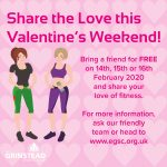 Bring a Friend for Valentine's Day!
