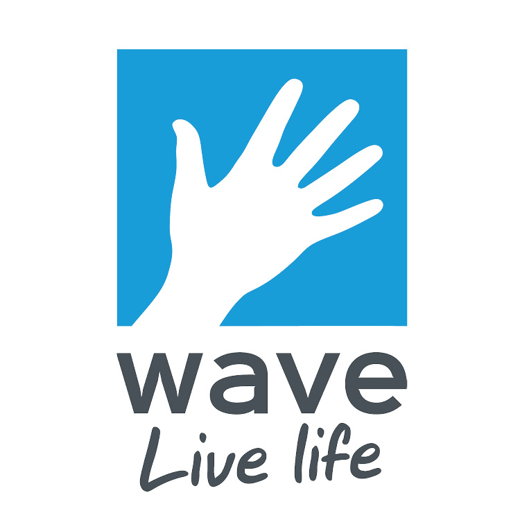 the wave leisure trust logo