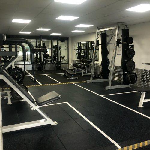 a gym space